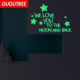 $enCountryForm.capitalKeyWord Australia - Decorate Home Diy star letter cartoon art glow wall sticker decoration Decals mural painting Removable Decor Wallpaper G-619