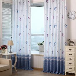 $enCountryForm.capitalKeyWord NZ - ome Xmas Decor Living Room Bedroom Pastoral Moon Print Sheer Window Curtain