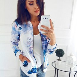 $enCountryForm.capitalKeyWord Australia - Casual Female Outwear Long Sleeve Retro Floral Printed O Neck Basic Women's Jackets Pattern Zipper Ladies Tops Plus Size 5XL