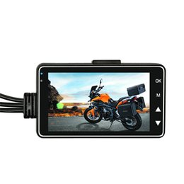 dual car dvr rear front UK - Motorcycle Camera Dvr Recorder 1080P Front And Rear Dual Lens Driving Recorder Ky-Mt18 car