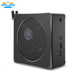 china gaming computers UK - Top Gaming Mini PC i5 8300H 4 Core 8 Threads 2*DDR4 NVMe M.2 Nuc Desktop Computer Win10 Pro AC WiFi HDMI DP
