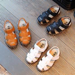 Kids Shoes Boy Summer NZ - Baby Kids Fashion Sneaker Children Boys Girls Summer Casual Sandals Shoes CZ04