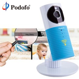 Infant Baby Videos NZ - Podofo 720p Hd Mini Wireless Wifi Baby Monitor , Ip Camera Infant Baby Clever Dog Video Security Two-way Tops Audio Night Vision