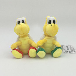 koopa troopa toys Australia - 2017 NEW 2 Colors Super Mario Bros. 6Inch 15CM Koopa Troopa Plush Doll Fashion Lovely Cartoon Turtle Toys For Children