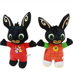 Wholesale Character Soft Toys Australia - 2019 25CM plush Bing Bunny plush Kids Toys Soft stuffed animal Doll Toy Children Kids Christmas Gifts Free shipping DHL Wholesale