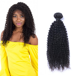 18 Inch Human Hair For NZ - Kinky Curly Human Hair Bundles Virgin Remy Hair Extensions 8-30 Inch Unprocessed Brazilian Hair Bundles for Women Ping