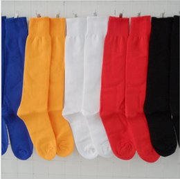 $enCountryForm.capitalKeyWord Australia - Unisex medium thick four seasons versatile light board solid color tube football socks