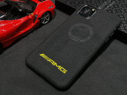 car logo cases Australia - Turn Fur Leather Motorsport Sport Car Logo Case For iPhone 11 Pro Max XS Max XR 8 7 6S Note 10 Plus S10