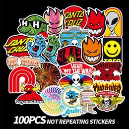 $enCountryForm.capitalKeyWord Australia - 100 pcs lot fashion personality stickers skateboard stickers graffiti stickers trolley case car sticker Kids toys
