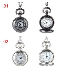 $enCountryForm.capitalKeyWord Australia - Hot Sale Quartz Pocket Watch Alloy Chain Hollow Out Flower Flip Cover Vintage Pendant Watches for Women CXZ