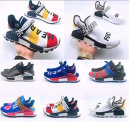 $enCountryForm.capitalKeyWord Australia - Cheap NMD Human Race Running Shoes Men Women Pharrell Williams HU Runner Yellow Black White Red Green Grey Blue Sport Sneaker Size 36-47