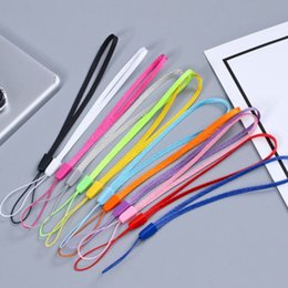$enCountryForm.capitalKeyWord NZ - 12 Colors Short Phone Lanyard For Cell Phone Camera iPod Mp3 Mp4 USB Flash Drive ID Card Badge Other Electronic Devices