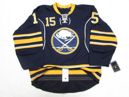 Cheap custom JACK EICHEL BUFFALO SABRES HOME HOCKEY JERSEY stitch add any  number any name Mens Hockey Jersey XS-6XL 65a878cfc