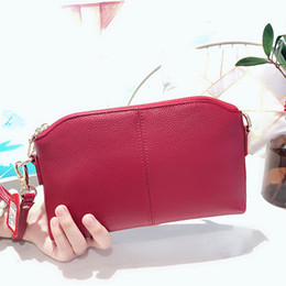 $enCountryForm.capitalKeyWord Australia - Genuine Leather Small Clutch Bag Women Luxury Handbags Ladies Shoulder Bag Female Party Wallet Crossbody Bags Shopping Purple
