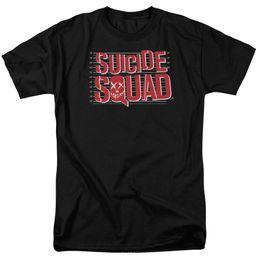 Green White Movie Logo UK - Suicide Squad Movie Lineup Logo Licensed Adult T Shirt Custom t shirt logo text photo Mens Womens T-shirt men tshirt rock Unisex t shirt