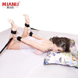 $enCountryForm.capitalKeyWord Australia - Multi-functional Adults Games Sexy Bed Restraint System Erotic Products Bdsm Bondage Hand s & Ankle s Sex Toys For Couple Y190713