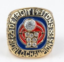 Piston set online shopping - Newest Men fashion sports jewelry Pistons championship ring fan sports collection boy souvenir gift