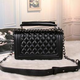 Discount christmas cross - Free shipping 2018 brand fashion luxury designer handbags classic rhombic square bag simple shoulder messenger bag ladie