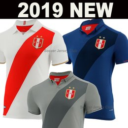 11a001f6f7a 2019 Peru Copa America Home Kit soccer jersey red white 2020 away football  shirts goalkeeper blue and grey Camisa de futebol Maillot Foot