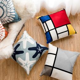 $enCountryForm.capitalKeyWord Australia - Pure Cotton Pillow Cushion Case Northern Europe Style Back Cushion Sofa Decorative Throw Pillows Cover Bedroom Home Office Pillow Case