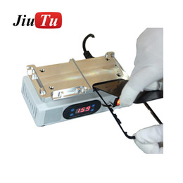 Vacuum frame online shopping - For iPhone XS Max LCD Screen Repair Heating Platform Middle Frame Removing Machine With Vacuum Pump