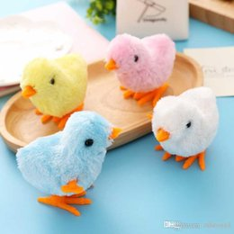 toy chicks Australia - Good New Hot Lovely Kids Gift Toddler Wind-up Chick Walking Toy Clockwork Developmental Toys Free Shipping