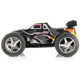 Haute vitesse WLtoys L929 Rc Car 5CH 2 de Dirt Bike avec télécommande véhicule jouet route -Block pour les enfants Jouets cadeau avec télécommande en Solde
