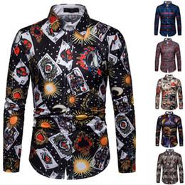 d550df53 Poker Shirts NZ - Brand Poker Shirt Playing Cards Clothes Shirts Las Vegas  Casual Shirt Clothing