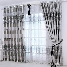 $enCountryForm.capitalKeyWord NZ - 1 pc 2019 New Curtains for Windows Drapes European Modern Elegant Noble Printing Shade Curtain For Living Room Bedroom