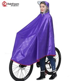$enCountryForm.capitalKeyWord Australia - Rainfreem Impermeable Raincoat Women Men Thick Bicycle Rain Poncho Plaid Oxford Knitting Jacquard Women Waterproof Rain Gear