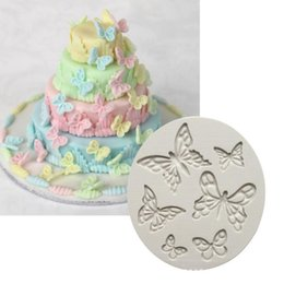 Butterfly shaped chocolates online shopping - Butterfly Shape Silicone Mold Fondant Cake Mold Chocolate Fudge Tool K047