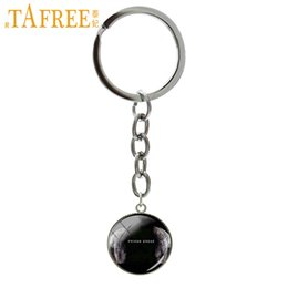 Picture Rings Australia - TAFREE famous movie Prison Break Teleplay art picture keychain pendant glass cabochon ring jewelry Christmas gift for men NS451