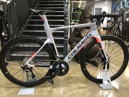 $enCountryForm.capitalKeyWord Australia - 2019 colnago Complete bike Bicycle With Ultegra R8010 Groupset For Sale 50mm carbon road wheelset matte