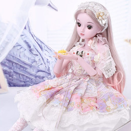 Toy Doll Australia - 1 3 BJD Doll 60CM  23.6'' height 19 Ball Jointed Dolls (Wig+ Shoes +Clothes +Hair +Eyes+ Makeup) Toys