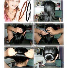 $enCountryForm.capitalKeyWord Australia - Hot Sale Women Magic Hair Twist Styling Clip Stick Bun Maker Braid Tools