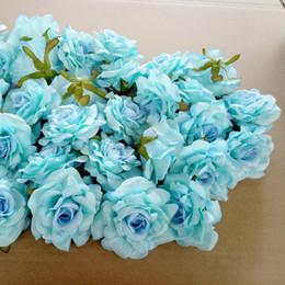 $enCountryForm.capitalKeyWord Australia - 50pcs Wedding Decoration Artificial Flowers Head 10 Cm For Diy Wreath Gift Box Floral Silk Party Design Flowers T8190626