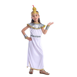 cosplay cleopatra 2020 - Girls Elegant Cleopatra The Leader Of Ancient Empire One of Egypt Most Famous Pharaoh Historical Halloween Cosplay Costu