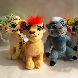 ty plush toys wholesale UK - The Lion Guard Kion beshte hippo fuli cheetah bunga honey badger TY SPARKLE 1PC 15CM Plush Toys Stuffed animals
