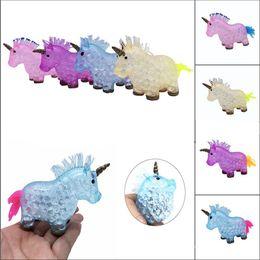 $enCountryForm.capitalKeyWord Australia - 200PCS Squishy Unicorn Grape Ball Beads Vent Mesh Ball Latex Squeeze Decompression Anti Stress Reliever Children Kids Novelty To
