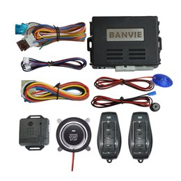 $enCountryForm.capitalKeyWord Australia - BANVIE 1 Way Car alarm system with remote engine start and push start stop button