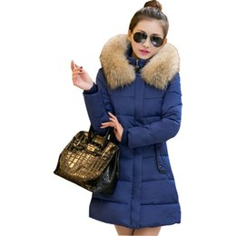 $enCountryForm.capitalKeyWord NZ - Winter Jacket Women Winter Jackets Coats Bing Fur Collar Warm 2018 Long Warm Coat women's Jacket Cotton Clothing Vestidos YL201