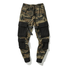 $enCountryForm.capitalKeyWord NZ - 2019 New Design Pants Street Wear Hip Hop Pockets Joggers Cargo Pants Men Track Trousers Camouflage Men Clothing Camo Pant