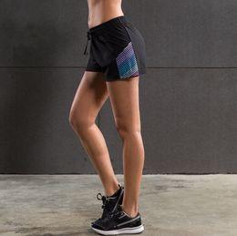 $enCountryForm.capitalKeyWord Australia - Female Sport Shorts Summer Workout Waistband Running Gym Fitness Yoga Shorts Training Jogging For Women