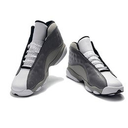 6ed43dc1ecc47 New Arrival Jumpman 13 Atmosphere Grey Graffiti Mens Basketball Shoes  Sneakers 2019 New Release 13s Grey White Sport Trainers Designer 40-47