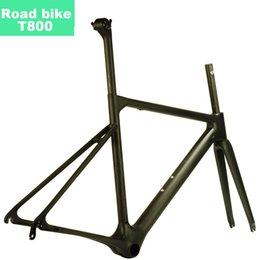 Carbon Fibre Road Bicycle Frame Australia - MCELO road bike frame carbon frame seatpost headset fork hanger bicycle set road 2019 disc cadre velo de route en carbone