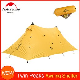 Large canopy online shopping - Large Coverage Awning Tent Shelter Sunshade Waterproof Tear Resistant Multifunction Uses Camping Tent Canopy Against Heavy Rain