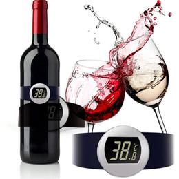$enCountryForm.capitalKeyWord Australia - New Fashion Champagne Wine Bottle Digital Electronic Thermometer Fashion New Wine Thermometer