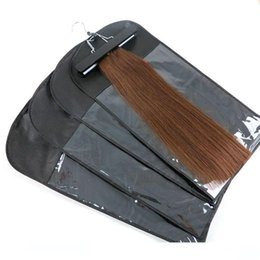 case hair wholesale UK - A Hair Extensions Package Packaging Dustproof Suit Case Bags For Packing Clip Hair Extensions Hair Wefts Professional Tools