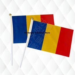 $enCountryForm.capitalKeyWord Australia - Romania Hand Held Stick Cloth Flags Safety Ball Top Hand National Flags 14*21CM 10pcs a lotLesotho