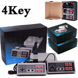 Discount wi fi - 4key 2key Mini TV can store 620 500 Game Console Video Handheld for NES with retail boxs